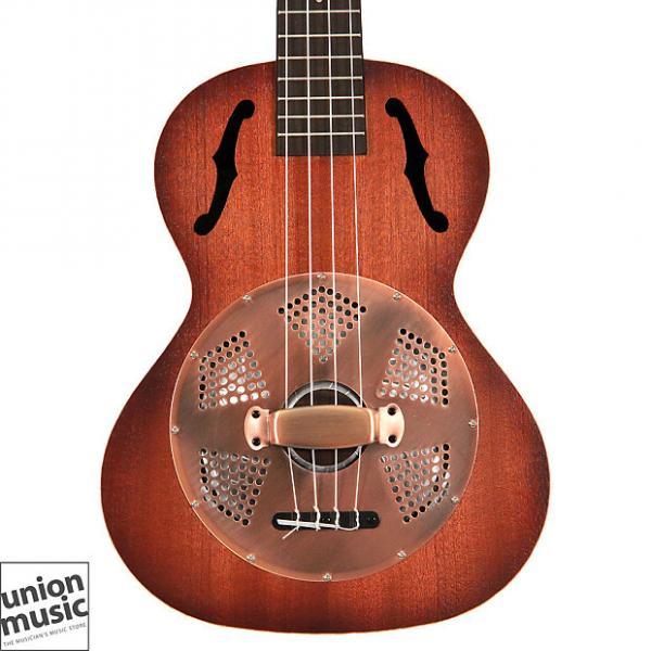 Custom Kala Resonator Brass Tenor Ukulele KA-RES-BRS Sunburst Satin #1 image