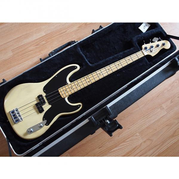 Custom Fender 60th Anniversary Precision Bass (USA) Blackguard 2010 Blonde #1 image
