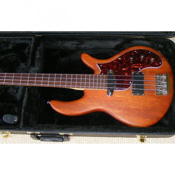 Custom Birdsong Short Scale Bass 2015 Natural Mahogany #1 image