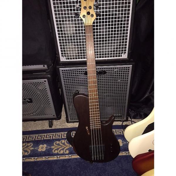 Custom DR Custom SC 5 string bass 2014 Natural #1 image