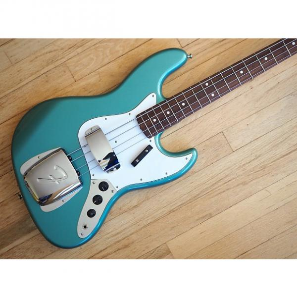 Custom 2008 Fender Jazz Bass '62 Vintage Reissue Bass Ocean Turquoise Metallic JB62 Japan CIJ w/ Gigbag #1 image