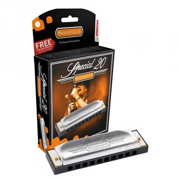 Custom HOHNER Special 20 Harmonica, Key of C, CASE of 12, Includes Case, 560BL-C #1 image