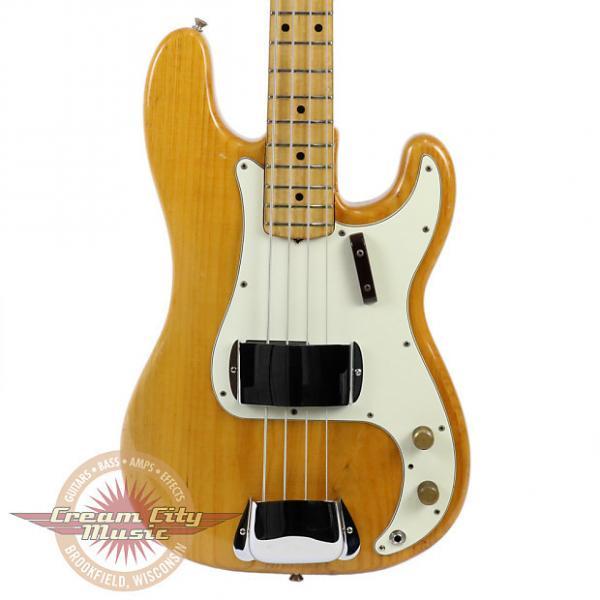 Custom Vintage 1973 Fender Precision Bass Electric Guitar #1 image