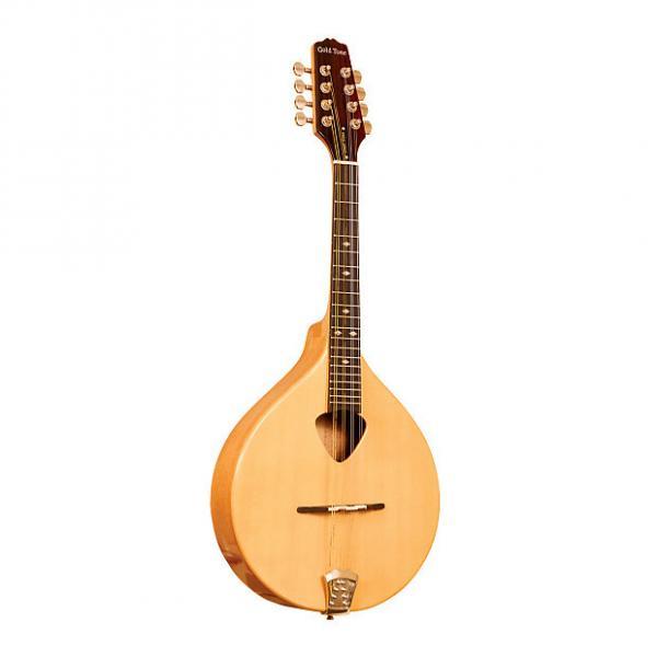 Custom Gold Tone Mandola Traditional Irish Mandola with Case #1 image