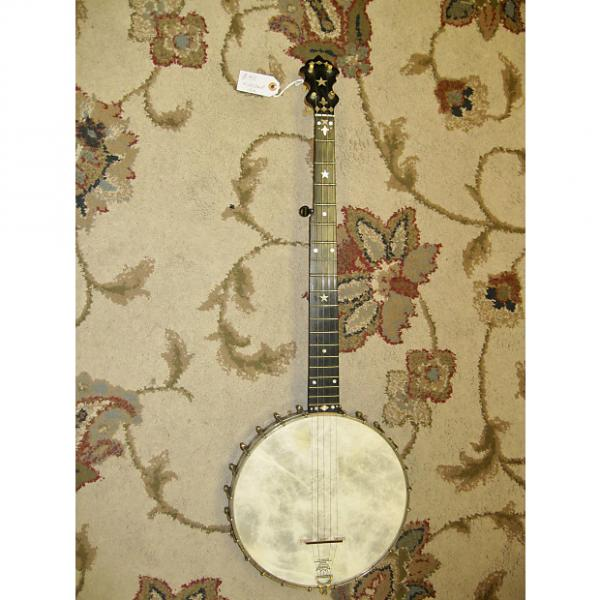 Custom S. S. Stewart Banjo c. 1887-88 with Chipboard Case #1 image