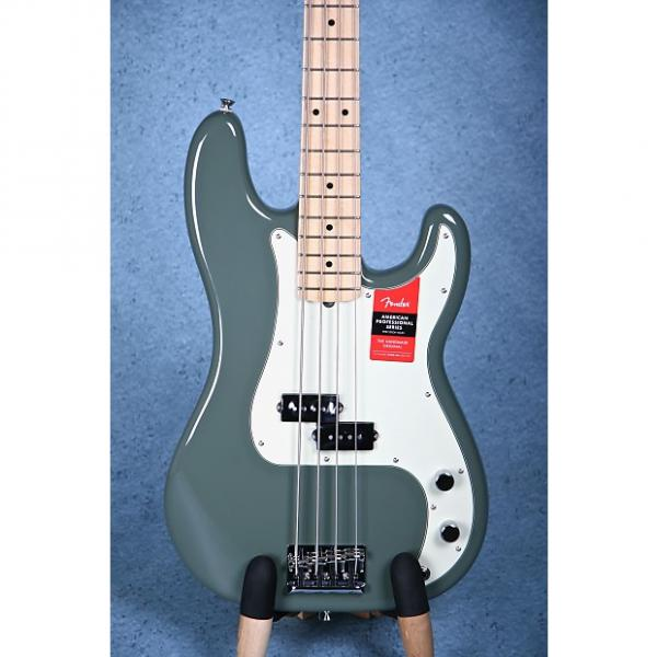 Custom Fender American Professional Precision Bass - Antique Olive US16113506 #1 image