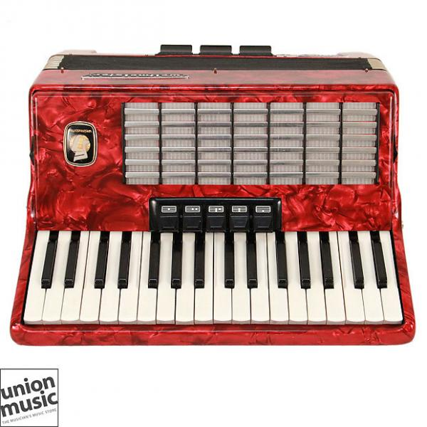 Custom Weltmeister 3/4 Size German Made Vintage Accordion 34 treble 12 bass buttons per row #1 image