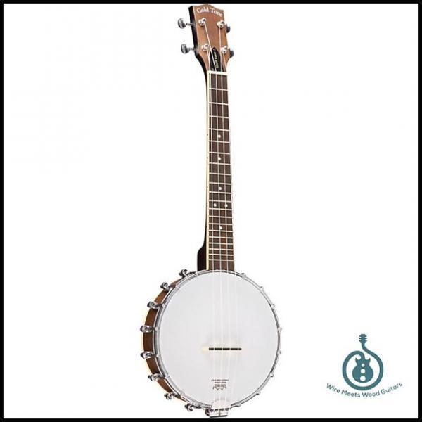 Custom Gold Tone BUT Tenor Banjo Uke Banjolele w/Case, Maple /Rosewood, New, Free Shipping #1 image