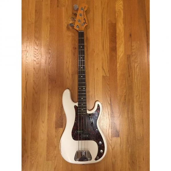Custom Fender Precision Bass 1968 Olympic white #1 image