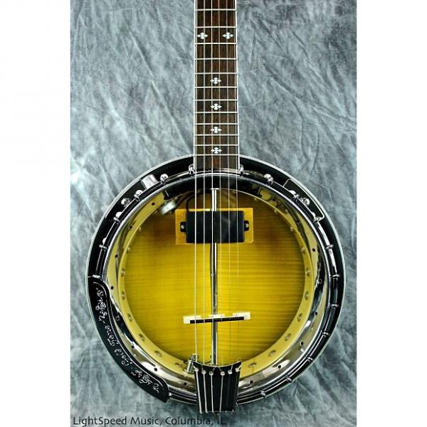 Custom Gold Tone GT-750 Acoustic-Electric Banjitar--6-String Banjo Uses Guitar Tuning! #1 image