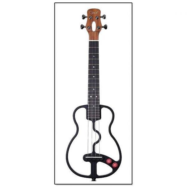 Custom Opal Instruments Open-Frame Tenor Electric Ukulele w/Bag #1 image