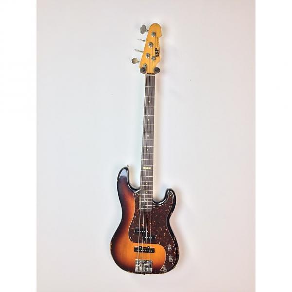Custom ESP VINTAGE-4 PJ Owned by Chuck Garric 3-Tone Sunburst #1 image