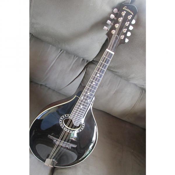 Custom Eastman MD404-BK O-Hole Mandolin w/ Pickup & HSC #1 image