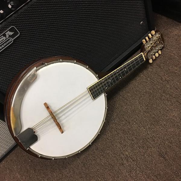 Custom Weymann 1921 Banjo Mandolin Excellent Condition w/ Original Case #1 image