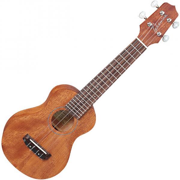 Custom Takamine GUS1 Soprano Acoustic Ukulele Natural #1 image