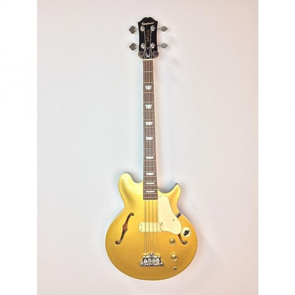 Custom Epiphone Chuck Garric Owned Jack Casady Signature Bass Gold #1 image