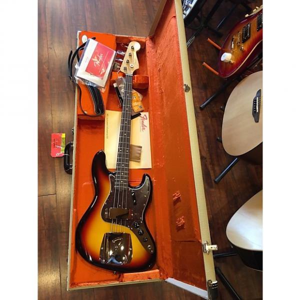 Custom Fender American Vintage '64 Jazz Bass 3-Color Sunburst #1 image