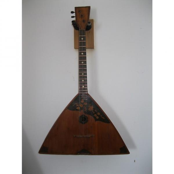 Custom Russian Balalaika - 3 string uke early 1900s amber #1 image