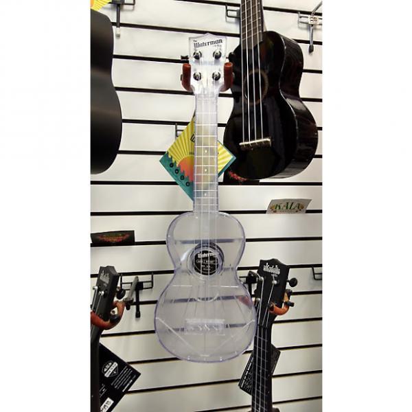 Custom Kala Transparent Ice Water Resistant Soprano Ukulele #1 image