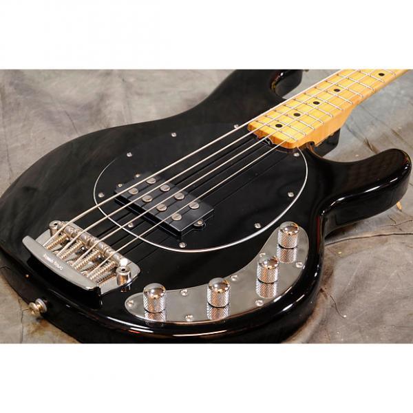 Custom MusicMan StingRay-4 Black #1 image