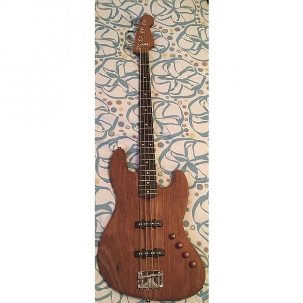 Custom Warmoth Jazz Bass Roasted Woods #1 image