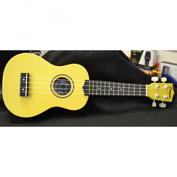Custom Penguin Soprano Ukulele Yellow #1 image