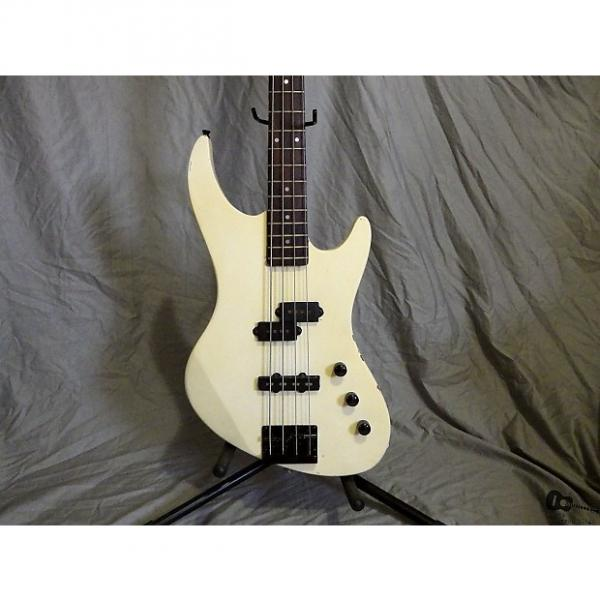Custom Biscayne/DeArmond III - Palmer Miami Series Electric Bass (1980s, Vintage White) #1 image