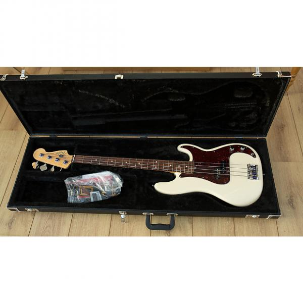 Custom Fender USA Precision Bass 2014 White #1 image