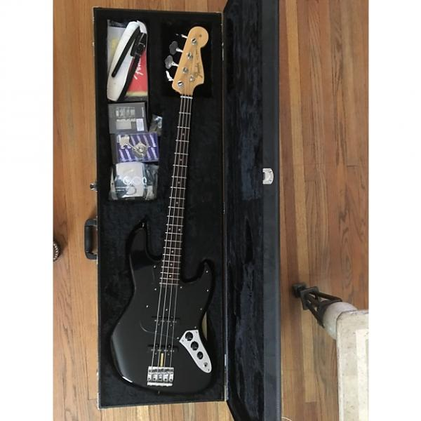 Custom Fender American Vintage '64 Jazz Bass 2013 Black w/Upgrades #1 image