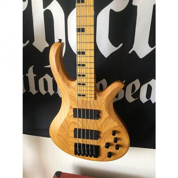 Custom Schecter Riot 5 Session 2015 Natural #1 image