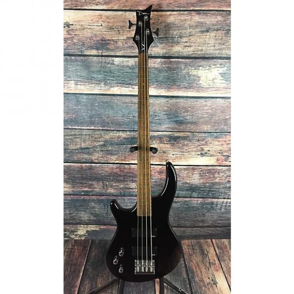 Custom Dean  Edge 4 Left Handed  Black with hard shell case #1 image