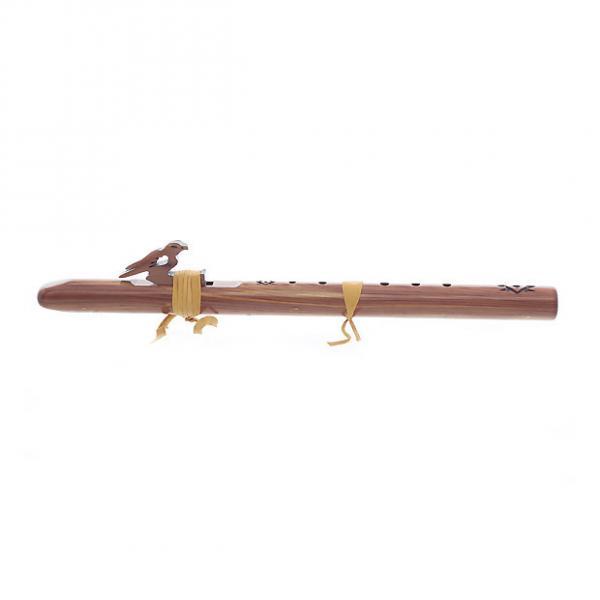 Custom High Spirit's 113-C Sparrow Hawk Wood Flute In A - Aromatic Cedar #1 image