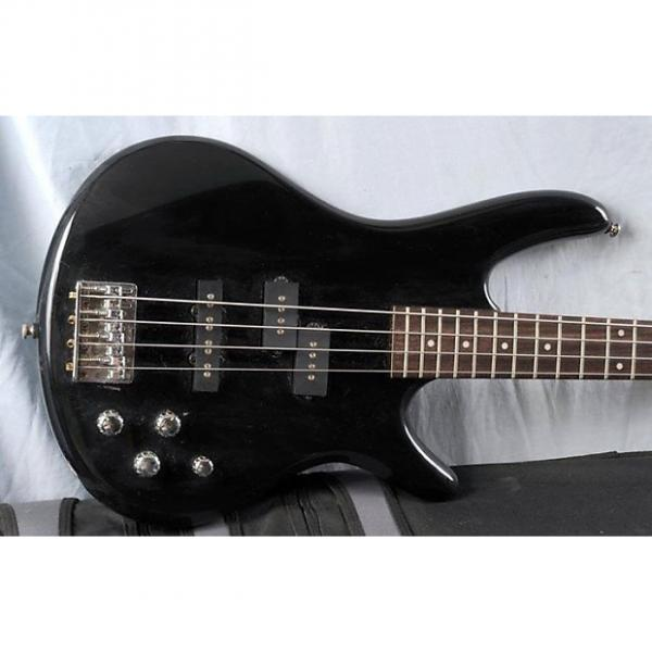 Custom Ibanez Gio Active standard Bass guitar- 2000's Black #1 image