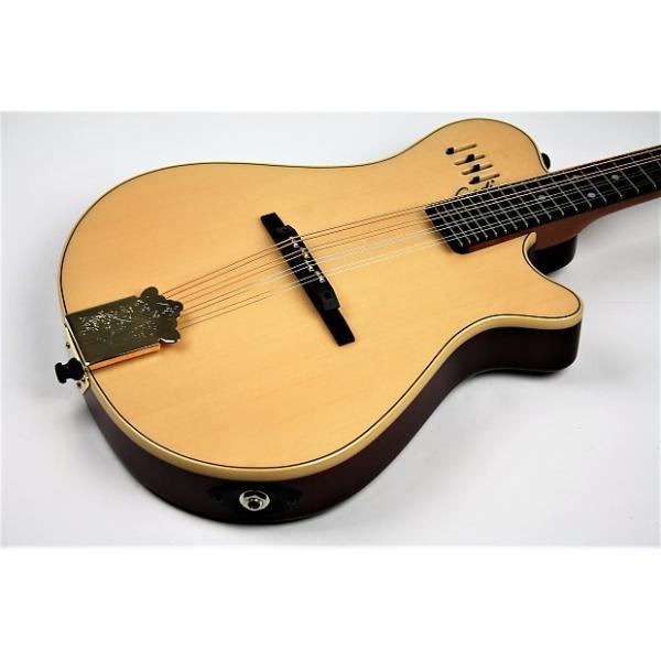 Custom Godin A8 Mandolin Natural w/Gigbag , Free Shipping #1 image