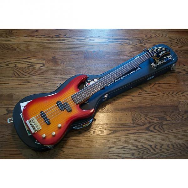 Custom Valley Arts Pro VI Samick Bass 1990s Cherry Sunburst #1 image
