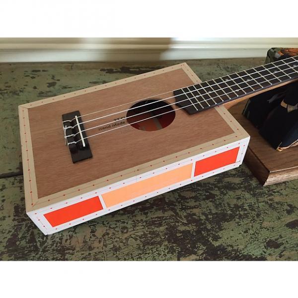 Custom Taconic Cigar Box Guitar Concert Ukulele - Catch 22 Toro - Acoustic/Electric - Active Electronics #1 image