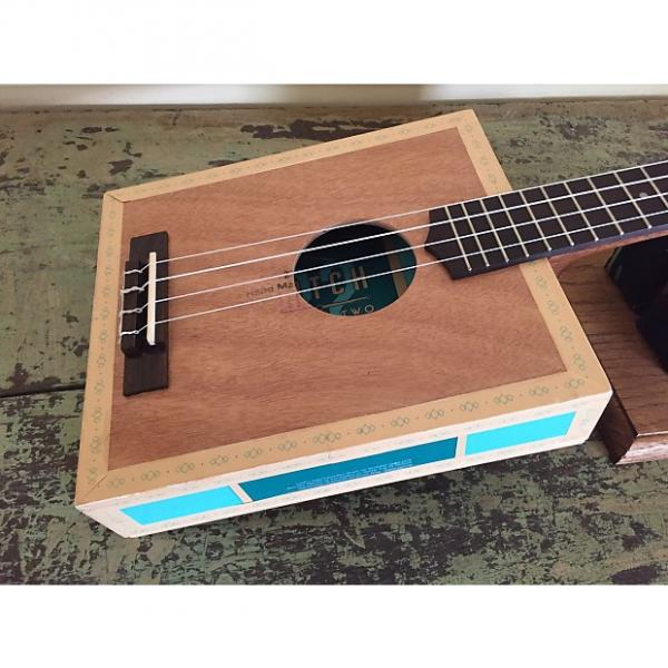 Custom Taconic Cigar Box Guitar Tenor Ukulele - Catch 22 Double - Acoustic/Electric - Active Electronics #1 image
