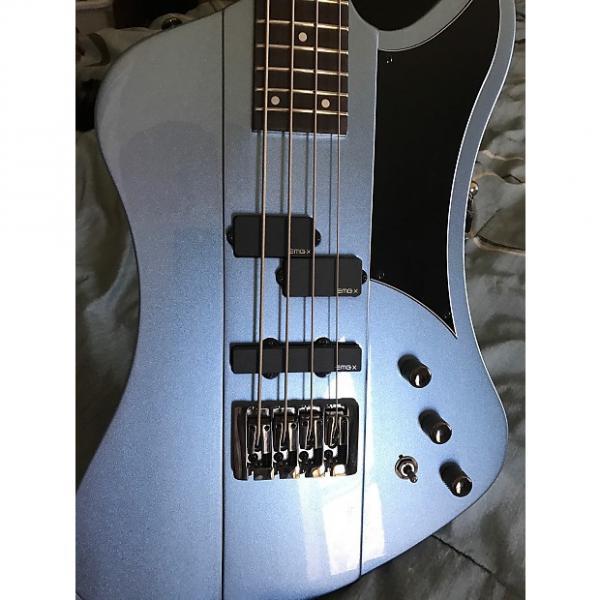 Custom Schecter Nikki Sixx Signature Bass Blue #1 image