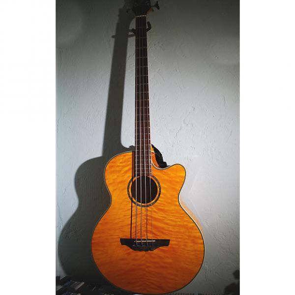 Custom Takemine EG512CGAMQ Acoustic Electric Bass Guitar with Soft Shell Case #1 image