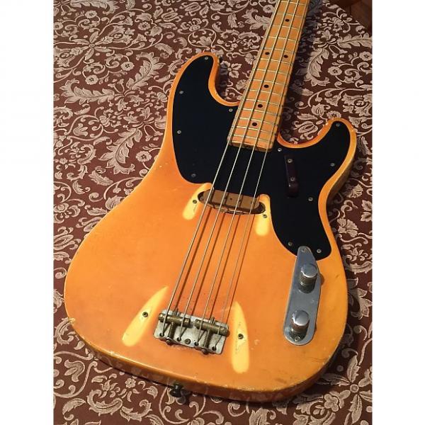 Custom Fender Telecaster Bass 1969 White #1 image