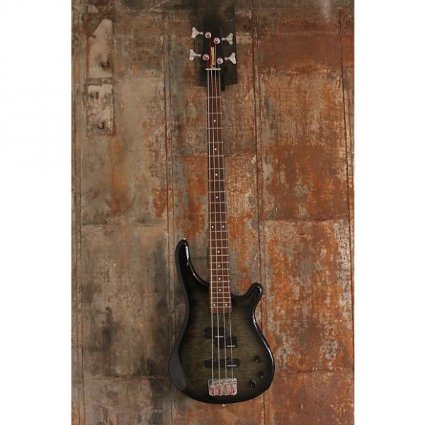 Custom Fernandes Japan FRB-40 Revolver 4 String Bass, Trans Black Burst, Ships WW #1 image
