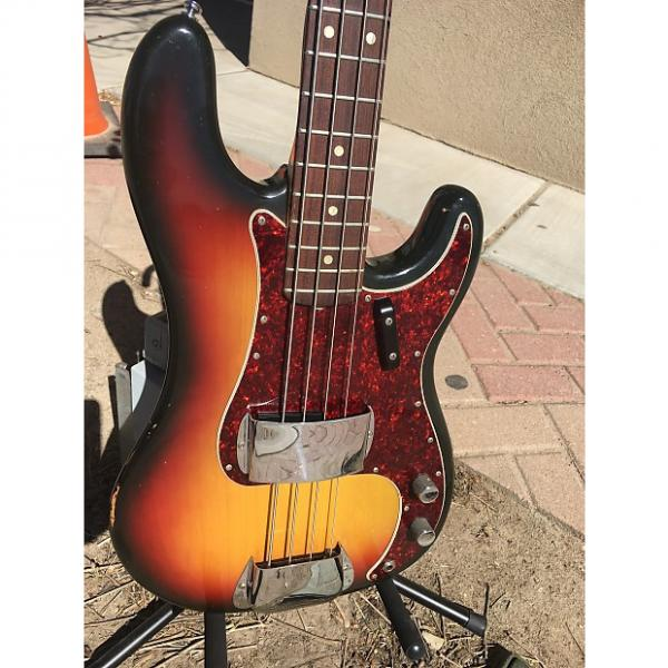 Custom Fender  Precision bass p j  1971 Sunburst #1 image
