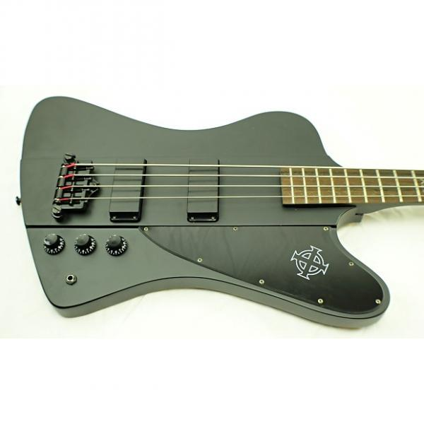 Custom Epiphone Goth Thunderbird IV  Electric Bass Guitar Excellent to Near Mint R-E274 #1 image