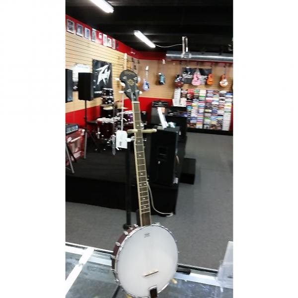 Custom Washburn B-7 Open-Back Banjo (Best Beginner Banjo) #1 image