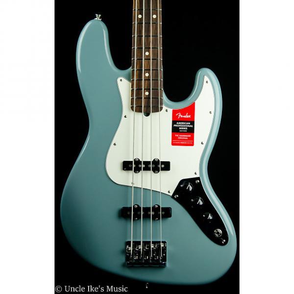Custom Fender American Professional Jazz Bass - Sonic Gray, Hard Case #1 image