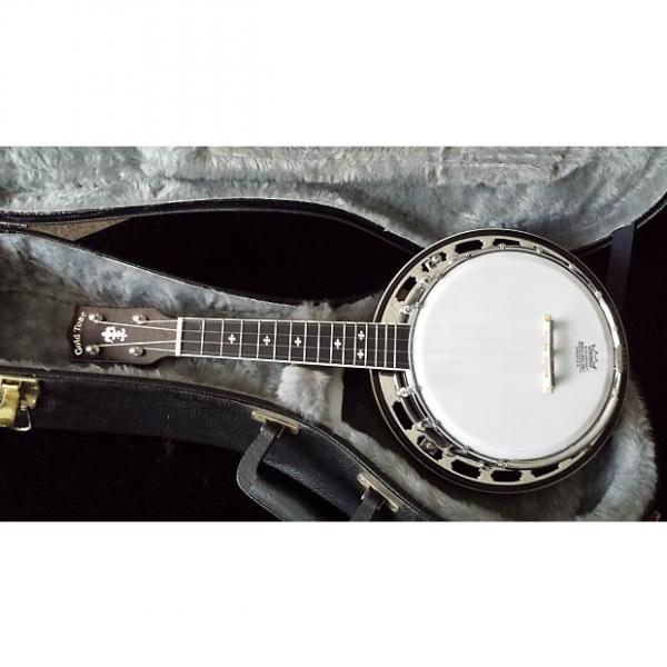 Custom Gold Tone Banjolele Deluxe circa 2010, with hardshell case #1 image