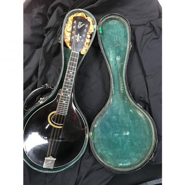 Custom Gibson Mandolin A4 1912 Black top with Brown Back and Sides #1 image