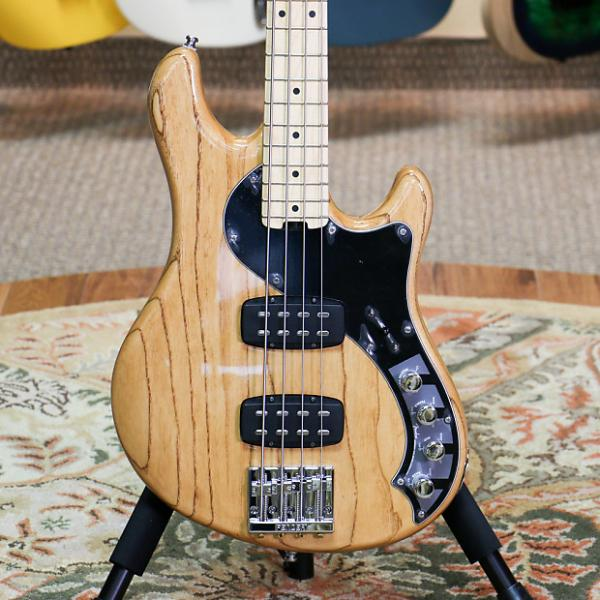 Custom Fender American Deluxe Dimension Bass IV HH - Natural with Case - Preowned #1 image