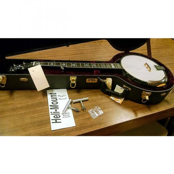 Custom Nechville Classic DLX 5-String Banjo with case (used demo model) #1 image