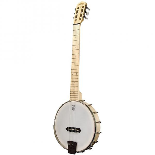 Custom New Deering Goodtime Solana 6 Nylon 6-String Acoustic Electric Banjo with Free Shipping #1 image